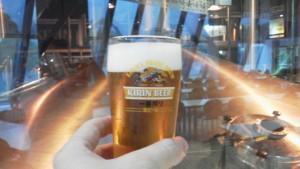 出来たばかりのビール
