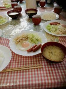 もやしの朝食